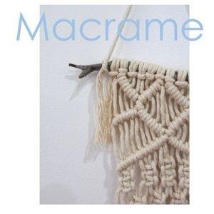 Macrame Wall Hanging Handmade by SacredFibers